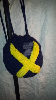X-Men Cinched BackPack by stitchscraftstore