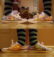 He-man Shoes by StarkRavingMaddie