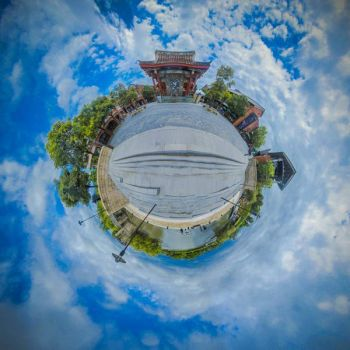 Taiwan Stereographic Projection 2012 by shobijou