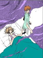 Sakura Syaoran Moments by JayNightDreams811