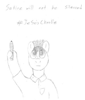 Je Suis Charlie by VectoredThrust