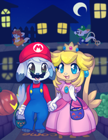 Trick or Treat! 2016 by Ambunny