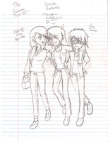 THE WINSOME THREESOME YO by StarXrossed