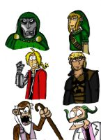 Various Characters 1. by Luke-the-F0x