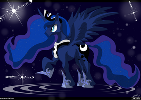 Princess Luna Galaxy by Eztp