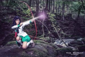 Sacred Arrow - Kagome Cosplay (Inu Yasha) by SchneeAmsel