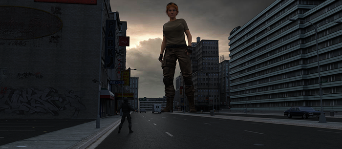 Cover Blown by 3D-Giantess-Studios