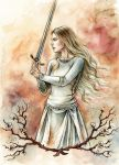 White Lady of Rohan by liga-marta