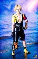 Tidus Cosplay, FFX - Sin's curse by Hadukoushi
