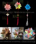 Nontraditional Kusudama and Modular Origami by Thundertori