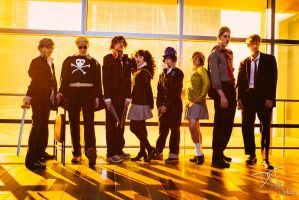Persona 4 Crew (Persona 4) by dolcedon