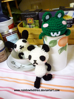 Whimsical Amigurumi Line by Rainbowbubbles