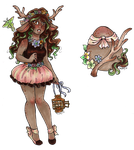 Egg Adopt: Forest Sweetness [CLOSED] HATCHED! by nickyflamingo