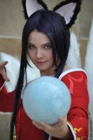 League of Legends - Ahri by Silver-Nightfox
