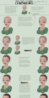 Cornrows tutorial by SBS-Axari