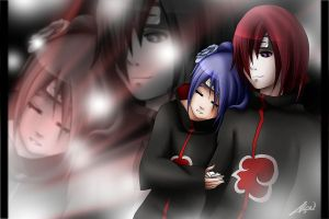 R: Nagato and Konan by Acquia