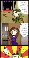 Zelda Comic: Sleeping Princess by LenaDir