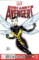 Wasp sketch cover by mdavidct