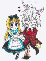 Alice .x. Peter - COLOURED by potterphantom13