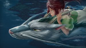 Spirited Away Paint Over by Dylean