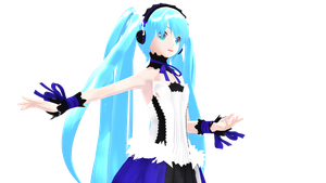MMD Miku wip 2 almost done by replica-luna