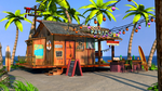 3D Beach Bar by iDrix