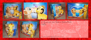 .: Kissing Nala'n Simba :. by Dunkin-Prime