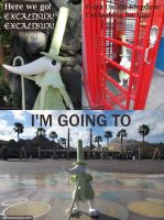 Excalibur Goes to California by waynekaa