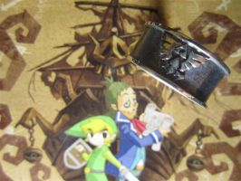 The Legend of Zelda Triforce Ring - 2 by Silverthink