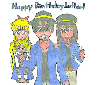 Happy Birthday Arthur 2017! by MarioSonicMoon