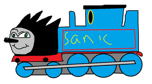 sonic the fast train by DicksNBalls