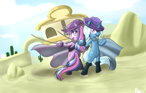 The Great and Powerful Senoritas by Reikomuffin
