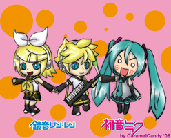 VOCALOIDS by CaramelCandy
