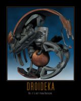 Star Wars The Clone Wars Droideka by Onikage108