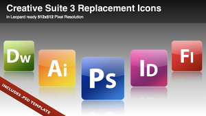 CS 3 Replacement Icons by Lukasiniho