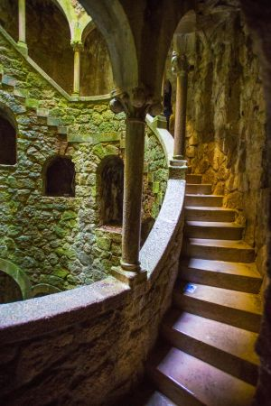 Spiral Tower Interior Stock by little-spacey