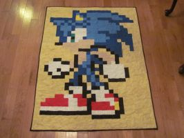Sonic quilt by quiltoni
