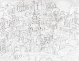 Snow Scape 1 WIP by shadowshot9