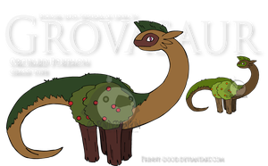 Fake Pokemon - Grovasaur by Prinny-Dood