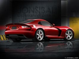 2013 SRT Viper (rear) by jonsibal
