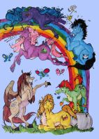 Too Many Unicorns by TheMushman