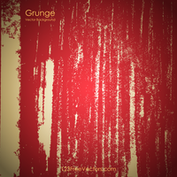 Red Grunge Background Free by 123freevectors