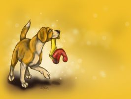 Beagle Wallpaper by Puppy-Chow