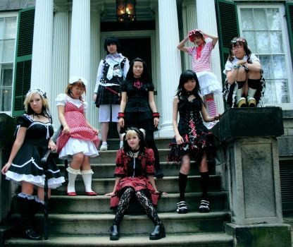 Lolita Posse by Cake-Injection