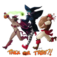 Wow: Tricking and Treating by Bhryn
