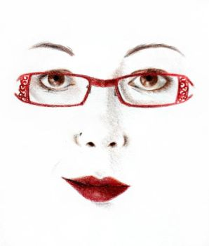Self Portrait As A Pair Of Glasses by Dagger-13