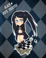 black rock shooter by yorusempai