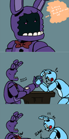Bonnie's an ass by cakesfunhouse