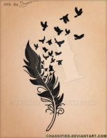 Birds of a Feather Tattoo by hassified