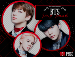 PNG PACK: BTS #2 by Yumi-chan19